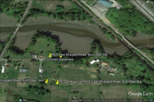Birch Bay Land for Sale-   one acre,in  cul de sac svces avbl,