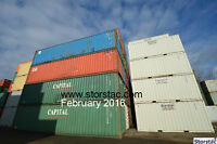 Used 40' Cargo Worthy Storage / Shipping Containers $1895