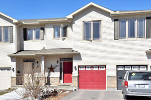 3 bedroom 3 bath townhome - Orleans - no rear neighbours!