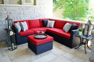 Cameron Resin Wicker Sectional