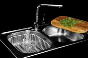 Kitchen sink ONX-620 Stainless Steel Dominox by Franke Italy
