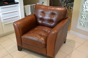 Broyhill Leather Chair