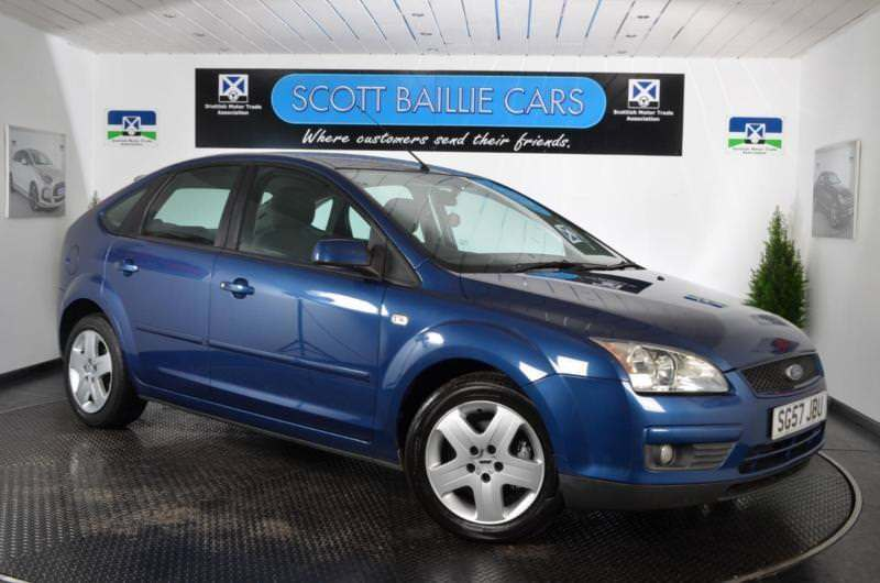 2007 FORD FOCUS STYLE HATCHBACK PETROL
