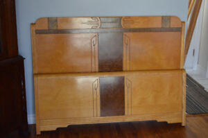 Lovely Solid Maple Double Bed Frame