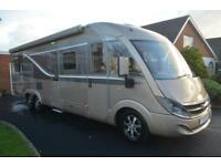 2012 Burstner i890 Elegance. A-Class. Automatic. Low Mileage. Island Bed.