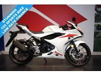 SUZUKI GSX-R 125***BLACK OR WHITE***