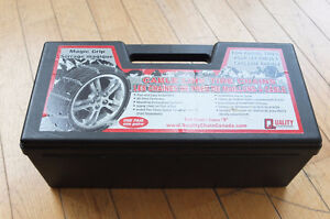 Magic Grip Tire chains - number 1938