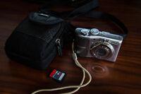 Canon PowerShot A1100IS + Carte SD SanDisk Ultra 8GB + Étuit Sui