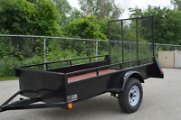 "Steel Utility Trailer 4""2X8""2 size 5 year structural warranty!!"