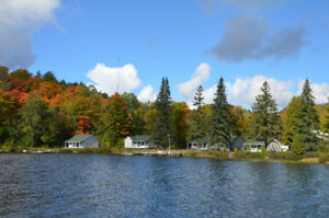 Fall Northern Getaway - Waterfront Cottages for Rent