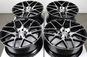 17 5x115 5x108 Wheels Volvo C30 S40 Jaguar XJ Thunderbird Grand Prix 5 Lug Rims
