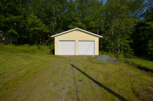 Building Lot Including 24'x30' Garage!