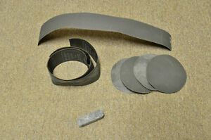Lapidary sanding disks and wheel disks