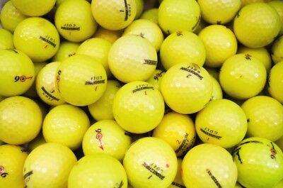 48 Bridgestone e6 YELLOW Golf Balls - PEARL / GRADE A - from Ace Golf Balls