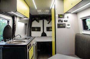Fully Custom Bus and Van Camper Conversions | Booking 2019!