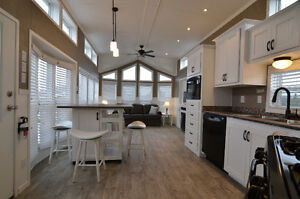 Kropf Park Model with Cottage Style Upgrade at Trestle Creek
