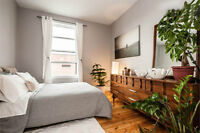 **Charming 6½ Modern Condo-style Apt - Available July 1st**