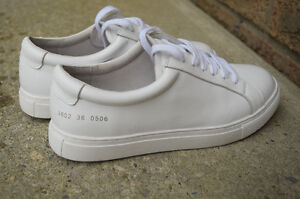 Woman by Common Projects Achilles low Cambridge Kitchener Area image 1