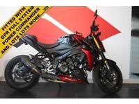 2015 15 SUZUKI GSX-S1000 ABS L6 BLACK/RED! LOW MILEAGE!