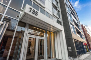 Brand New CONDO FOR RENT Old Montreal 1st JAN 2019