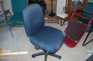 Full function ergonomic computer chair armless with many adjustm