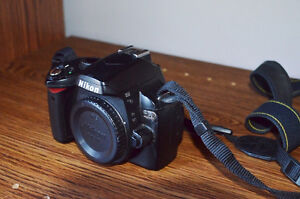 Nikon D60 Body Only with Battery,Strap and Memory card
