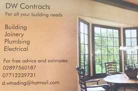 For all your building and joinery needs covering Belfast and Co.Down