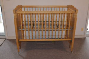 Little Folks crib in GOOD condition $40