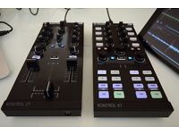 Traktor Z1 & X1 with cases/stands.