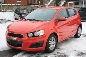 2012 Chevrolet Sonic LT automatic**ONE OWNER**clean**FINANCING