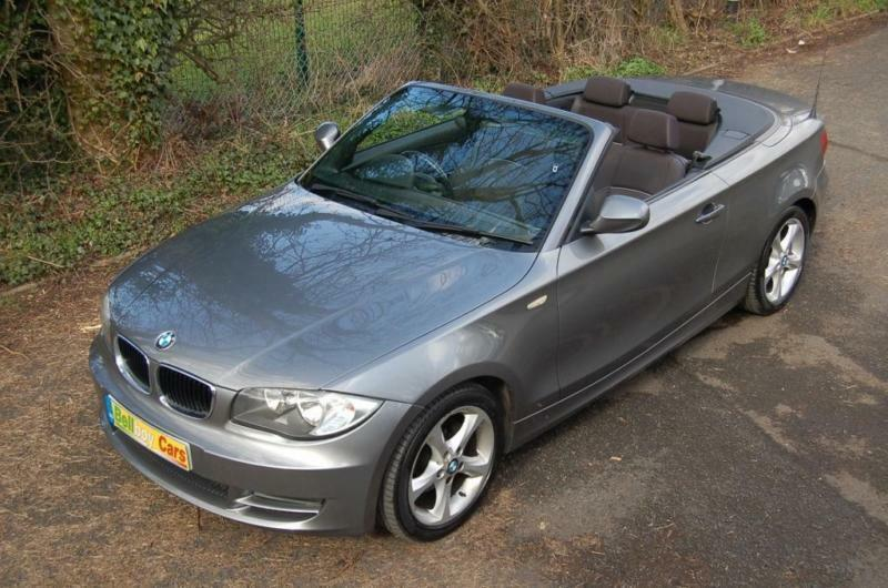2009 BMW 118D M SPORT CONVERTIBLE 2 0 TURBO DIESEL HEATED SEATS 17