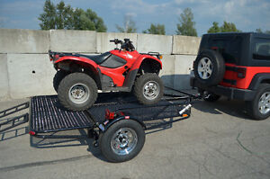 Kendon Stand Up Double ATV trailer, Stores upright in 8`X2` Kitchener / Waterloo Kitchener Area image 3