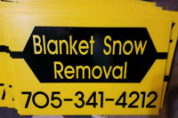 Snow removal in the lindsay area