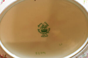 Rare Hammersley Co. Glamis Heather Oval Fruit Bowl/Deep Plate Edmonton Edmonton Area image 2