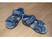 Clarks Boys First Sandals, size 5.5G