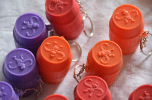 petit porte clé / Mini keychain Monkey's in a Barrel