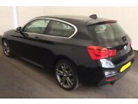 2016 BMW BLACK M135i 3.0 T SPORT PETROL AUTO 3DR HATCHBACK CAR FINANCE FR 75 PW