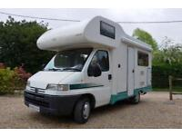 2001 4-berth Autocruise Pioneer Classic motorhome SOLD, SIMILAR REQUIRED