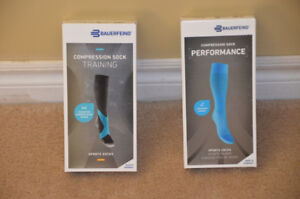 Bauerfeind Compression Socks for training and performance, $20/p