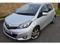 Toyota Yaris 1.3 VVT-I SR (silver) 2012