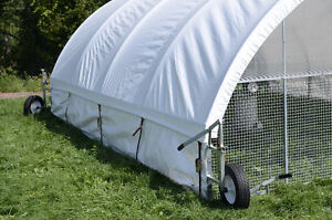 Cackellac Chicken Tractors for Pasture Poultry