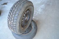 205/65/15 taurus 5x108 bolt winter tires