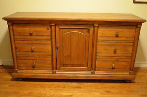 Gorgeous Solid Pine Dresser-Tons of Storage!!