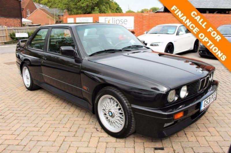 1990 G BMW M3 2.3 M3 2D 200 BHP AK05 EURO SPEC E30 3 OWNERS FROM NEW