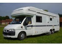 REDUCED 2003 4-berth lo-line Auto Trail Chieftain SE SOLD SIMILAR REQUIRED