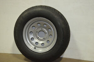 13 Inch Highway rated Multiply Carlisle Tire on Silver Mod Rim Cambridge Kitchener Area image 1