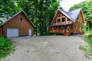 Beautiful Country Custom Home on Mature Treed Property