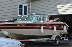 New condition 176 princecraft for sale