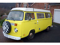 Volkswagen T2 Late Bay 4 berth Campervan for sale