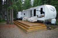 TALL TIMBER RV PARK - LOT & TRAILER